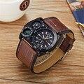 распродажа OULM  бренд кварцевые часы мужчин мода и случайные Military Men's Watch