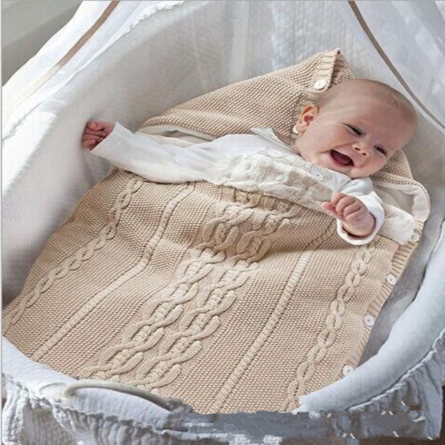 Newborn Baby Blanket Swaddle Sleeping Bag Kids Toddler Sleep Sack Stroller Wrap