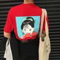 Camisetas Woman Summer Style Clothing 2017 Tee Shirt Korean Ulzzang Harajuku Cartoon Printed T-shirts For Women Sleeve Tops