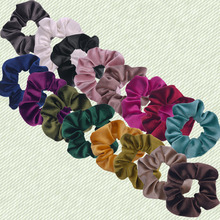 Girls Womens Hair Scrunchie Ponytail Holder Bun Ties Bands Elastic Scrunchy Accessories Headwear