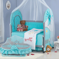 Exports cloth crib crib baby cradle shaker bed with mosquito net around the bed folding playpen bb king bed Free shipping