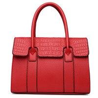 2017 Latest Fashion Women Handbag Vintage Alligator Shoulder Tote Bags Designer Brand High Quality Luxury Ladies