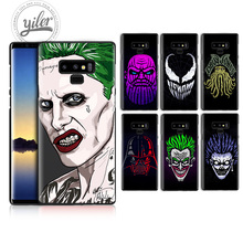 Funda For Samsung Galaxy Note 9 case for A8 2018 8 A50 A530 A750 Reverse character Black Case A7