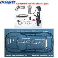 Carro silenciador válvula de escape gás ventilação tubo de escape para buick enclave segunda geração automático modificado controle remoto elétrico|Silenciadores|   -