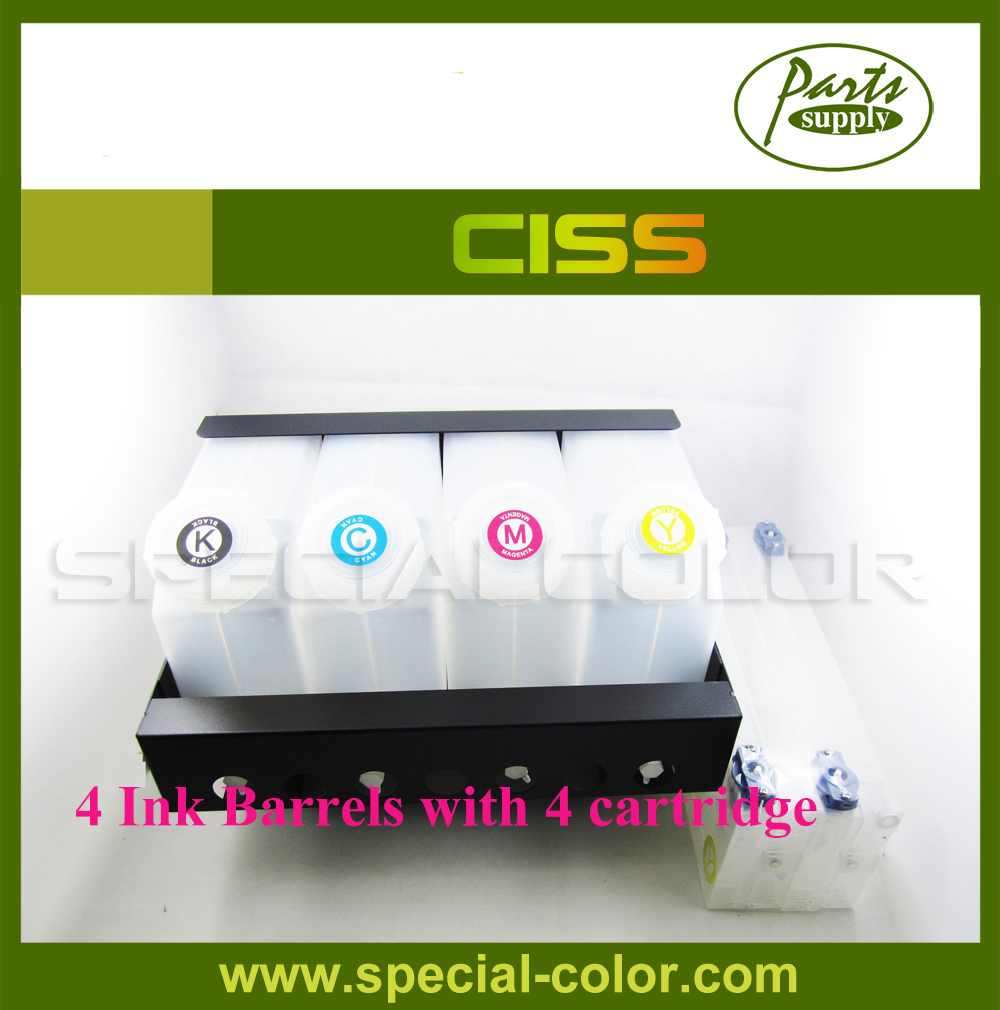 Mimaki Ink Supply System CISS Ink Tank without Chip mimaki ts34 bulk ink system 4 color bulk ink system for mimaki ts34 1800 printer continuous ink supply system