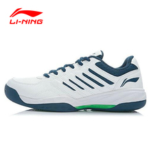 Анти-скользкие износостойкой li-ning теннисные туфли школа дышащий спортивная поддержка кроссовки обувь