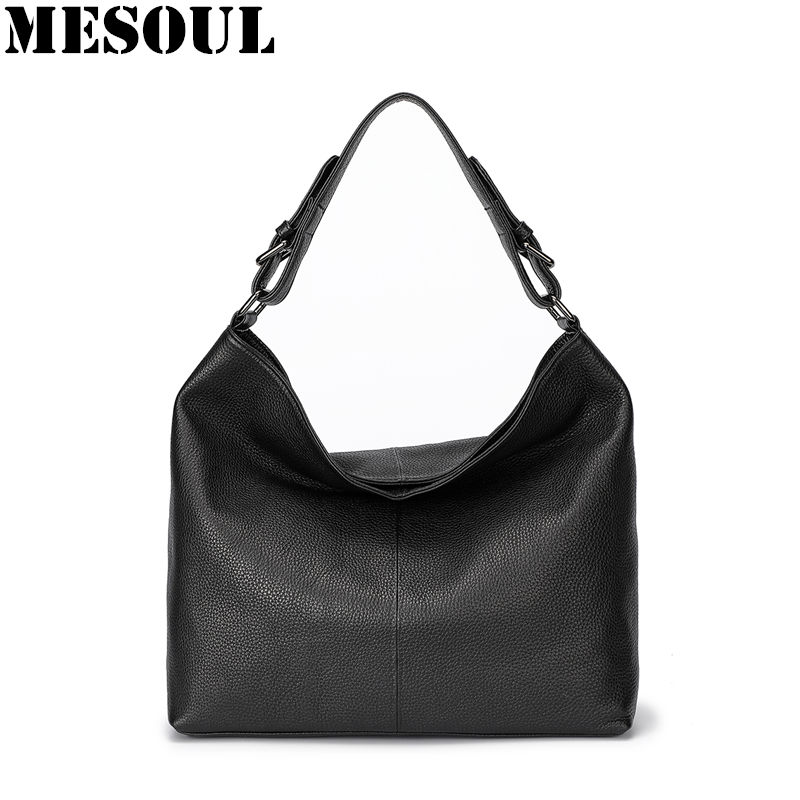 100% Genuine Leather Women Handbag 2018 New Casual Tote High Quality Large capacity Shoulder Bags For Ladies Brown Crossbody Bag hahmes 100% genuine leather women bags fashion casual tote handbag wholesale high capacity shoulder bag 31cm 10602