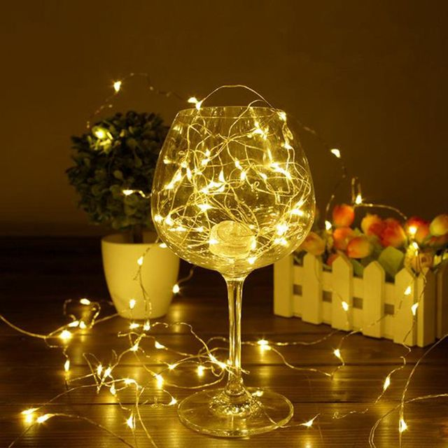 IVYSHION Holiday Lighting 2 10m Wire LED String Lights Waterproof ...