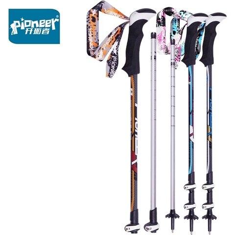 pioneer 1 par nordic walking cane trekking