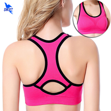 Top Quality Women Yoga Bra Sports Bra for Running Gym Fitness Athletic Bras Padded Push Up Tank Tops For Girls ropa deportiva