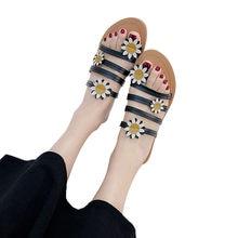 ac231fe068821b Sandals Women Comfortable Flip Flops Summer Women s Shoes Sunflower Floral  Open Toe Shoes Bohemia Anti Skidding