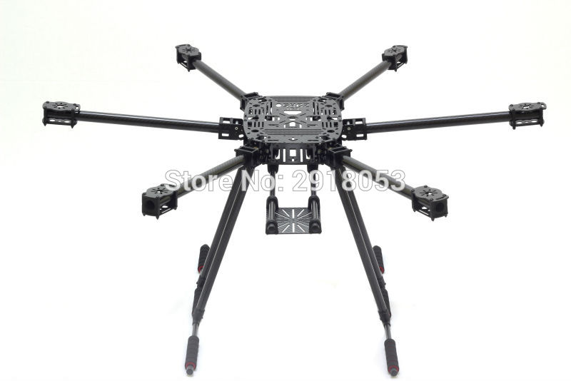 ZD850 Full Carbon Fiber ZD850 850MM Frame Kit with Unflodable Landing Gear Foldable Arm for FPV