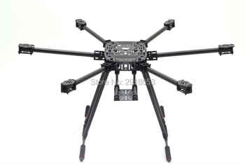 ZD850 Full Carbon Fiber ZD850 850MM Frame Kit with Unflodable Landing Gear Foldable Arm for FPV DIY Aircraft Hexacopter - DISCOUNT ITEM  40% OFF All Category