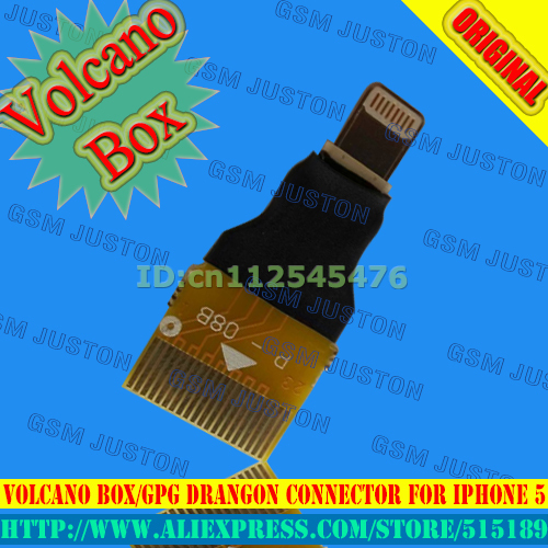 Volcano box / GPG Drangon Connector For Iphone5
