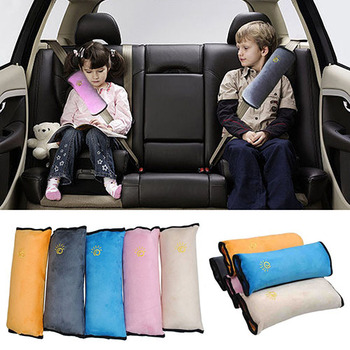 Car Safety Belt Protect Shoulder Pad Adjustable Vehicle Seat Cushion Relax Comfortable Cool Seat Cushion image