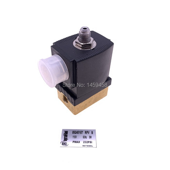 Free shipping 2pcs/lot 89245187 AC110V IR screw air compressor solenoid valve