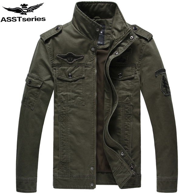 Online Shop Military Jacket Men Military Style Jackets For Men ...