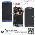 100% ok teste display lcd para samsung galaxy siv s4 Edição valor GT-I9515 I9515 i9505 i9506 Com Moldura Da Tela de Toque montagem