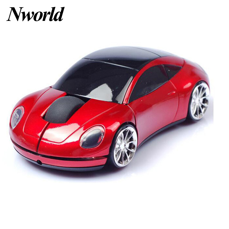 Hot Selling Wireless Mouse Fashion Super Car Shaped Mouses 2.4Ghz Optical Ergonomic Mouse For Computer Office Laptop accessories