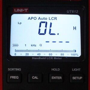 Image 4 - UNI T UT612 LCR متر واجهة USB الحث السعة عدد وأدوات المقاومة المرحلة زاوية متعددة متر مطابقة