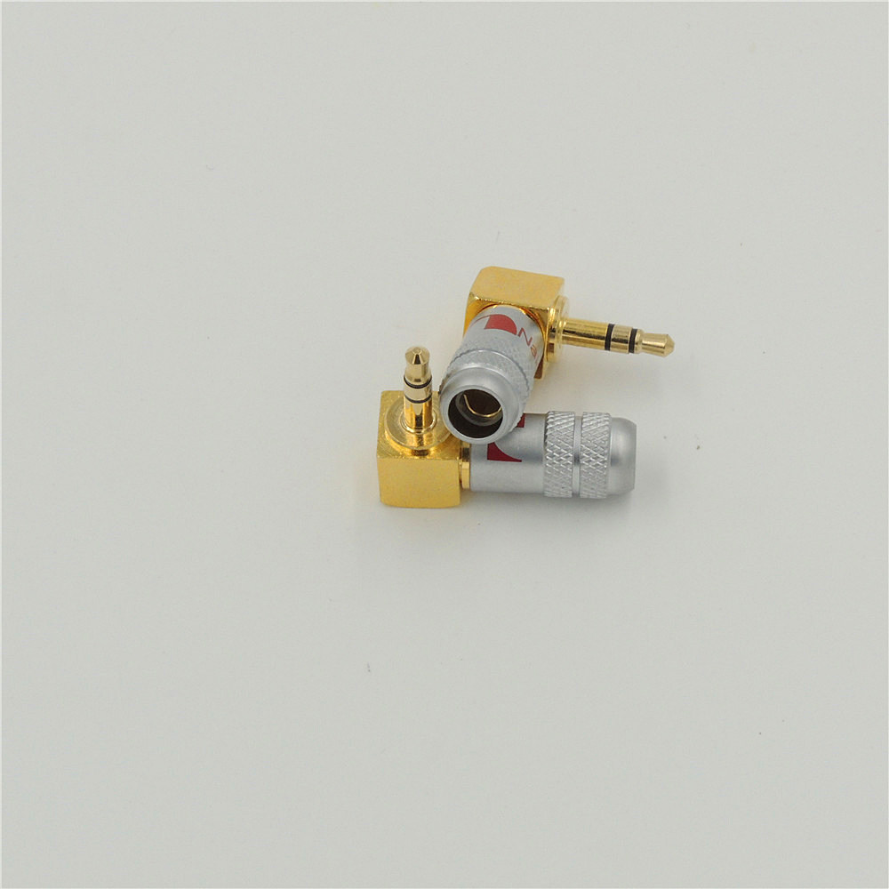 Online Shop Gold Plated 90 Degree L Shape Right Angled 4 Pole 35mm Jack Wiring 1pcs High Quality Copper 3pole Stereo Plug Solder