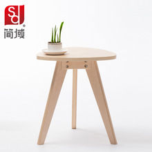 wood tea table modern Coffee table Nordic side table Free shipping