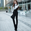 Dabuwawa fashion black long jumpsuit