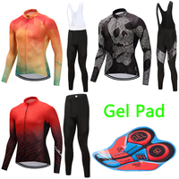 Quick Dry Men Long Sleeve Cycling Clothing 2018 Mountain Bike Jersey Racing Bicycle Clothes Male Maillot