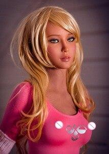 Image 5 - 157cm 11 # למעלה איכות כמו בחיים TPE עם שלד מין בובות חיים אמיתיים בובת אהבה, אוראלי נרתיק אנאלי אמיתי אדם בובות
