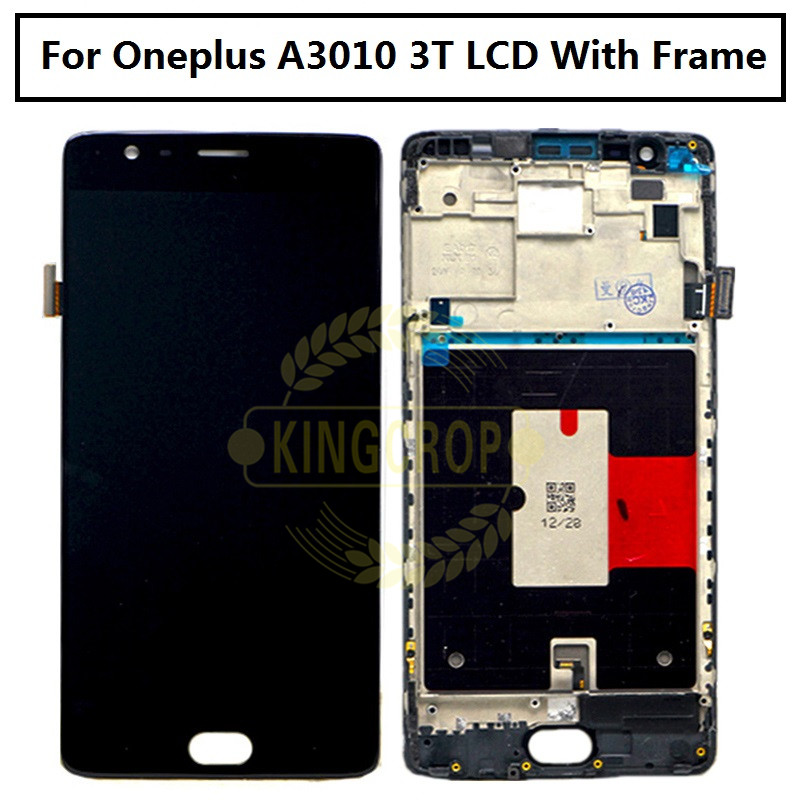 """Image 3 - Oneplus 3T LCD Display Touch Screen 100% New FHD 5.5"""" Digitizer Assembly Replacement Accessory For One plus A3010 A3000 3 three-in Mobile Phone LCD Screens from Cellphones & Telecommunications"""