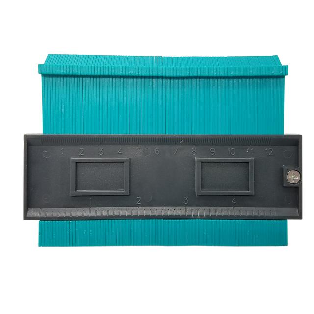 Plastic Profile Copy Gauge Contour Gauge Duplicator Standard 5″ Width  Wood Marking Tool Tiling Laminate Tiles General Tools