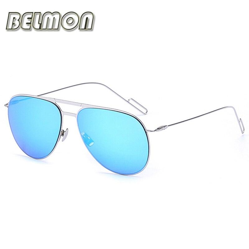 7c729b4773743 Moda Aviador Óculos De Sol Dos Homens Motorista Óculos de Sol Das Mulheres  Designer De Marca Para O Sexo Masculino Feminino Condução UV400 RS235