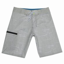 Пляжные спортивные шорты, водонепроницаемые шорты для серфинга, мужские шорты для плавания, мужские, эластичные брендовые Бермуды