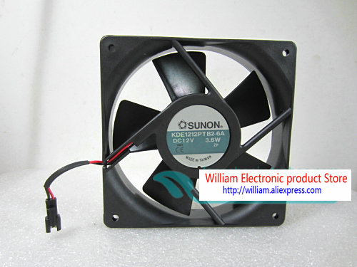 Jianzhen for SUNON 12038 KDE1212PMBX-6A 12V 7.6W 12CM axial Flow Cooling Fan