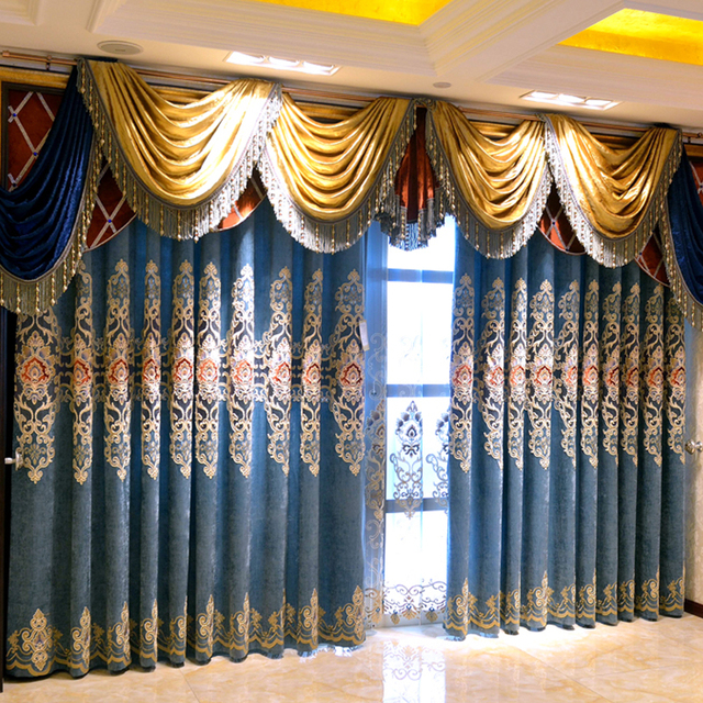 White Curtains black and white curtains for bedroom : Aliexpress.com : Buy 2016 Luxury stitching embroidery yarns ...