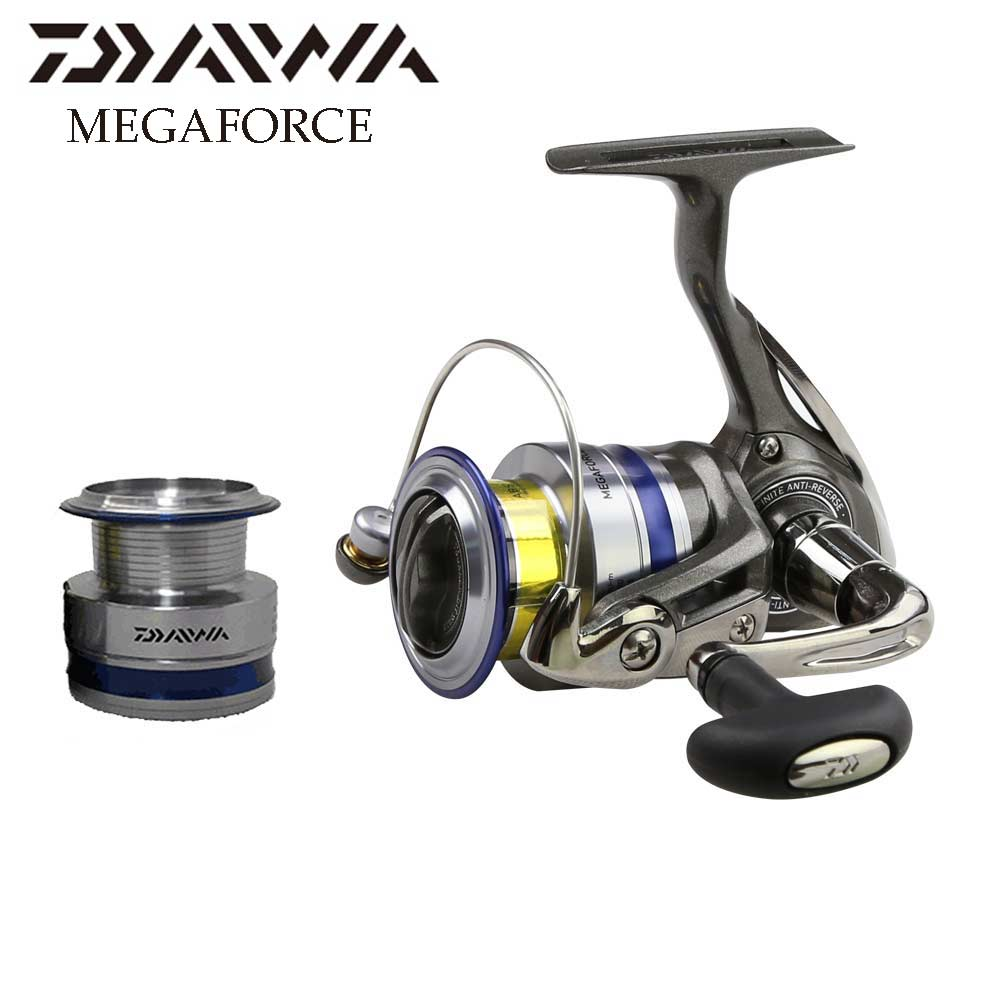 Daiwa megaforce spinning fishing reel with extra spool sea for Daiwa fishing reels