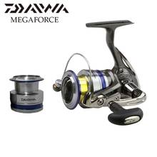 DAIWA MEGAFORCE Spinning Fishing reel with extra spool sea fishing reels Lightweight body 4.8:1 Machined aluminum spool