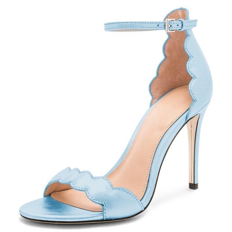 Baby Blue High Heels