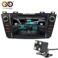 Sinairyu Android 8,0 Octa Core dvd плеер для Mazda 5 Premacy 2007 2013 gps навигации Мультимедиа Радио стерео головное устройство