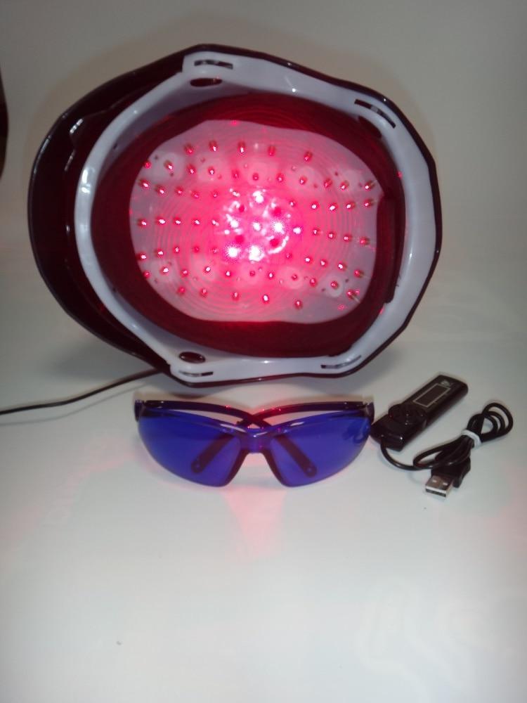 68 diodes médicales empêchent le traitement de la calvitie casque - Soin des cheveux et coiffage - Photo 3