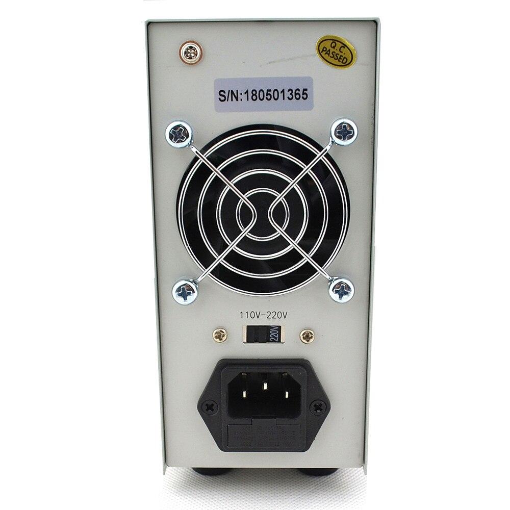 Mini alimentation numérique réglable DC 30V 10A laboratoire alimentation à découpage 110 v-220 v K3010D ordinateur portable réparation de téléphone - 4