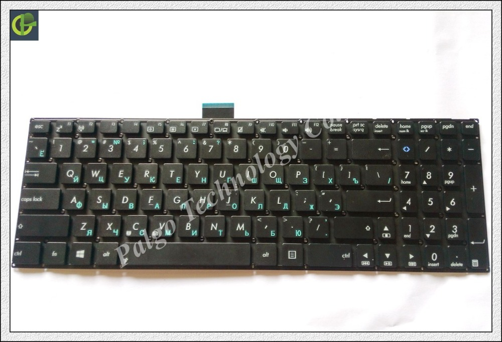 Original Russian Keyboard for ASUS X502C F502 F502C F502CA 15.6 Black RU with short cable laptop Keyboard