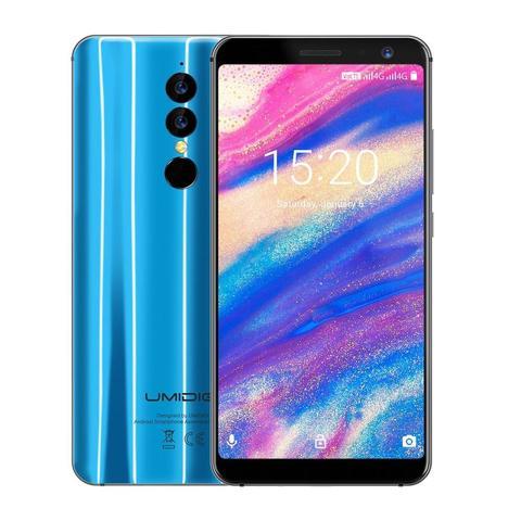 UMIDIGI A1 PRO 5.5 Inch Dual 4G Android 8.1 Smartphone MTK6739 1.5GHz Quad Core 3GB + 16GB Triple Cameras Facial Recognition Multan