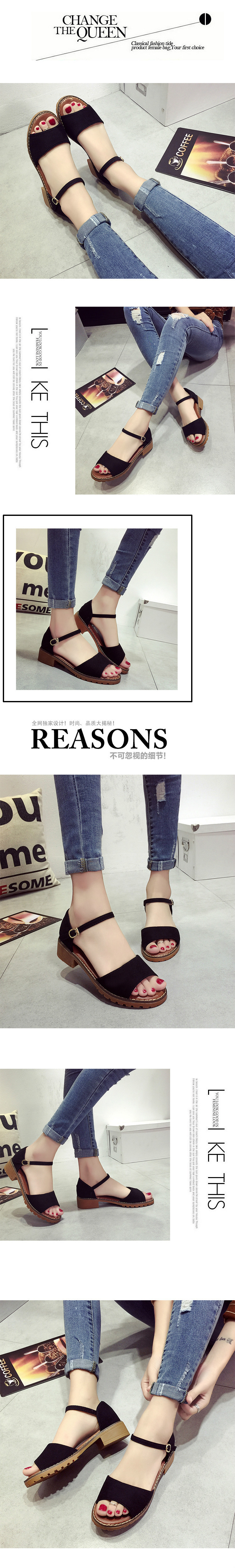 151bc1f02f9 CPI Summer Floral Sandals Fish Mouth Women Sandals Pu Suede Retro ...