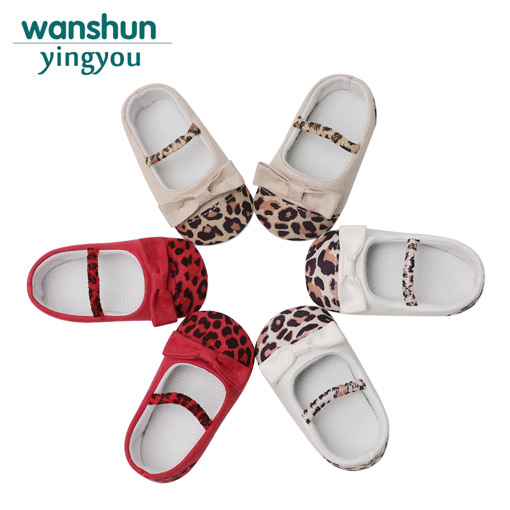2018 Hot Sale new arrivals baby boy girl shoes leopard cute first walker 6-12 months infant new born summer footwear Adorable