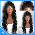 Kinky Curly Natural Wigs Synthetic Lace Front Wigs Heat Resistant Fiber Loose Curly Wigs cheap Synthetic Lace Front Wig in stock
