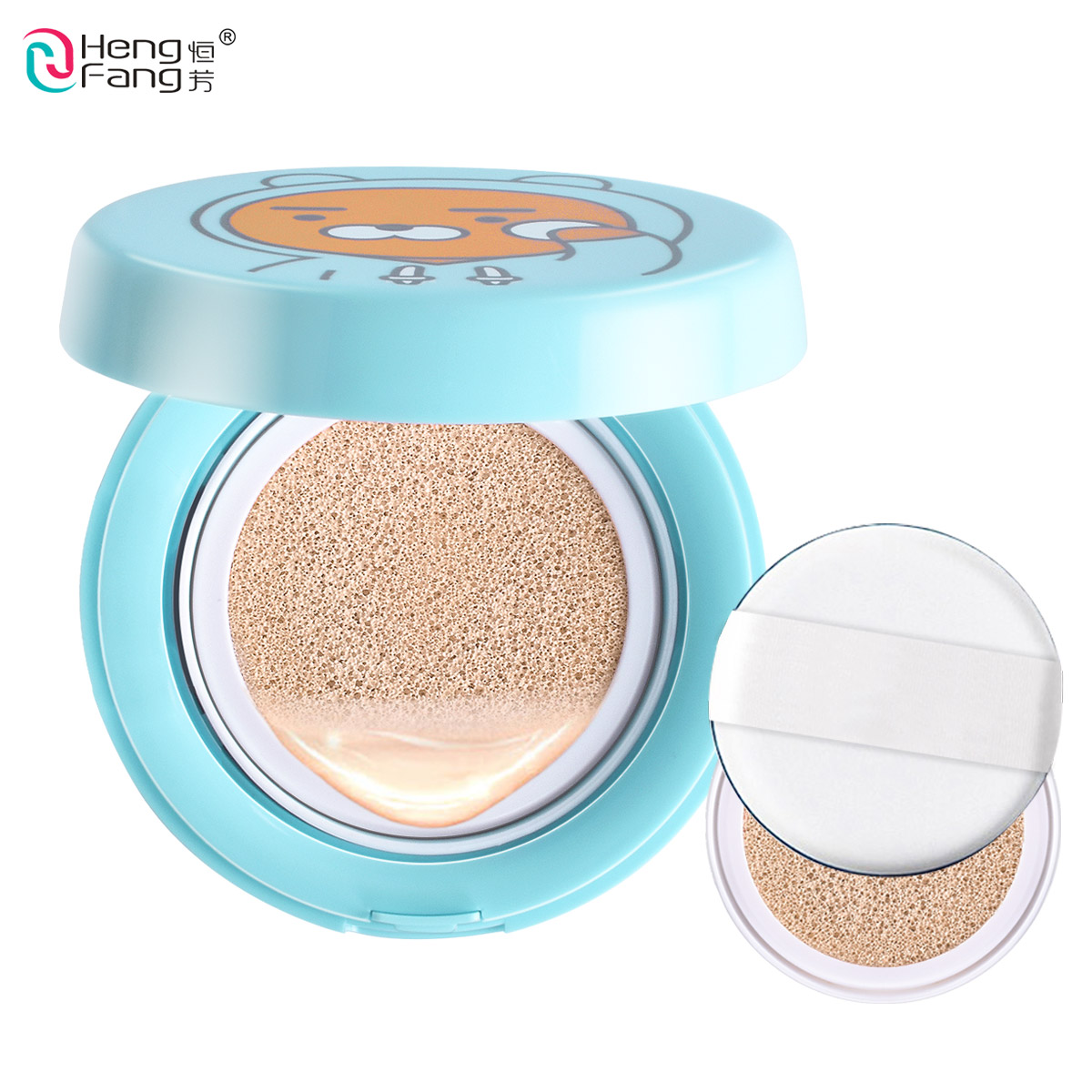 Air Cushion BB Cream Isolation Bb Nude Concealer , Oil Control Moisturizing 15gX2 Makeup Brand HengFang #H8470