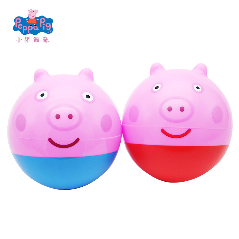 New Genuine Peppa Pig George Bouncing Ball Kawaii Action Hand font b Toys b font Soft