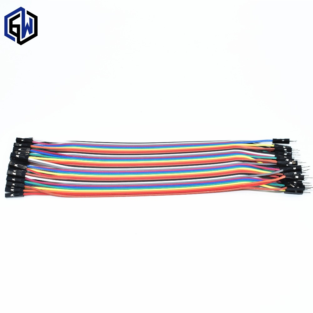male to female dupont line 40pcs dupont cable jumper wire dupont line 2.54MM 20cm SKUGMmale to female dupont line 40pcs dupont cable jumper wire dupont line 2.54MM 20cm SKUGM