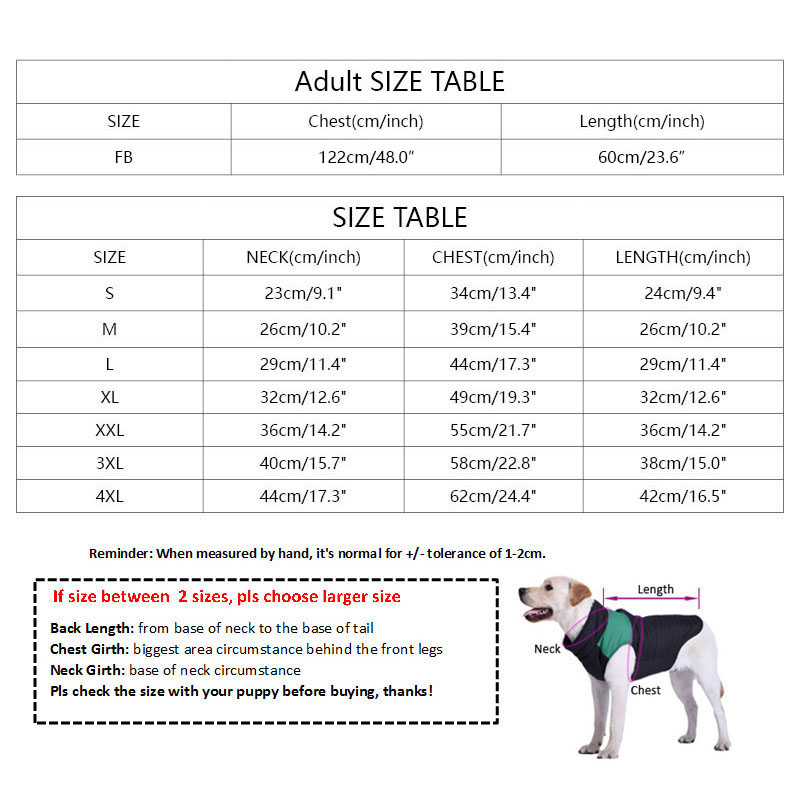 Cotton Coat matching owner for French Bulldog, Chihuahua, Yorkshire  My Pet World Store